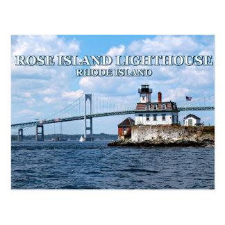 Rose Island Lighthouse, Rhode Island Postcard