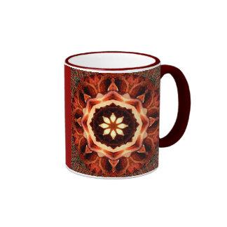 Rose Kaleidoscope Mugs