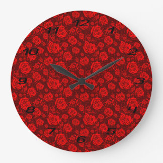 rose large clock
