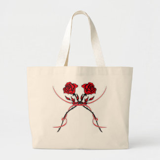 Rose Large Tote Bag
