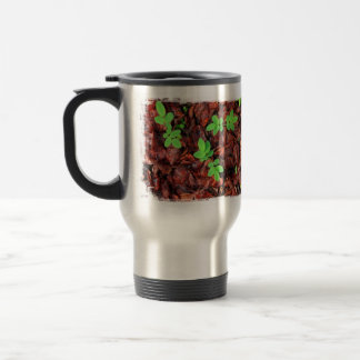 Rose Leaves No Text Coffee Mugs