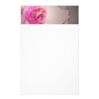 Rose Letter Stationery