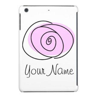 Rose Lilac 'Name' iPad Mini case
