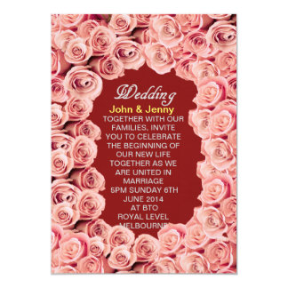 Rose Love Wedding Invitation