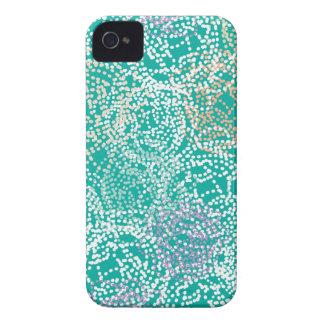 Rose + Main Turquoise iPhone 4 Case-Mate Case