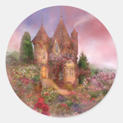Rose Manor Art Sticker
