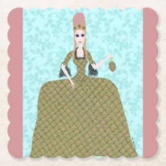 Rose Marie Paper Coaster