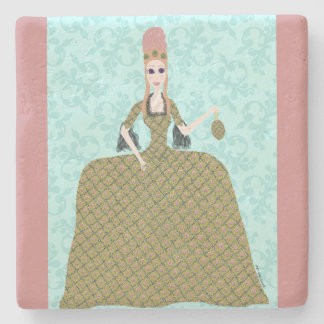 Rose Marie Stone Coaster