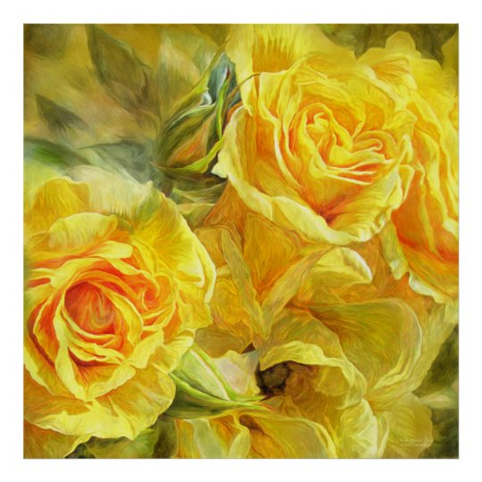 Rose Moods - Joy Fine Art Poster/Print Poster