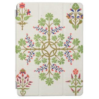 Rose motif wallpaper design, printed by M. & N. Ha iPad Air Cover