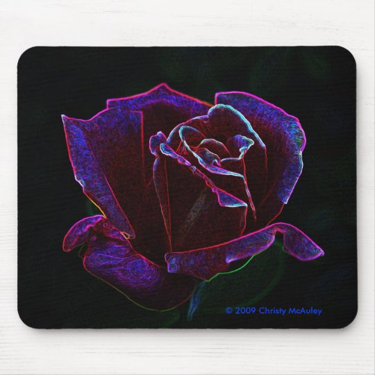 Rose Mouse Mat