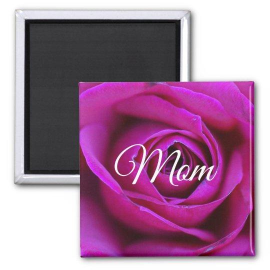 Rose Mum Magnet