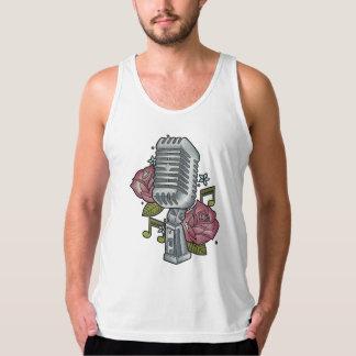 Rose N' Mic Vest Tank Top