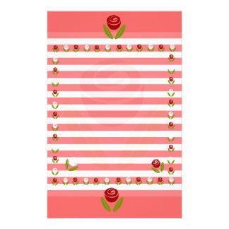 Rose of a Rose Stationery