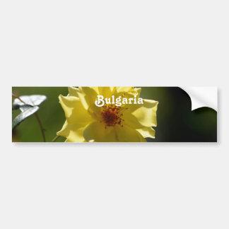 Rose of Bulgaria Car Bumper Sticker