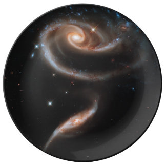 Rose of Galaxies Plate