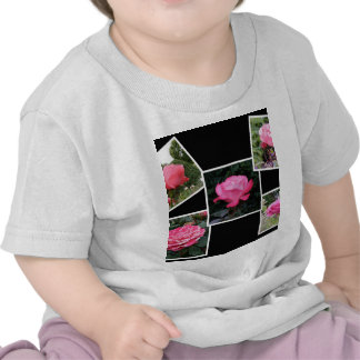 Rose of Love Collage Tee Shirts