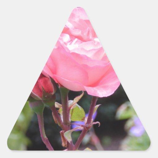 Rose of Love Triangle Sticker