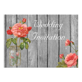Rose of Orleans Wedding Invitation Card