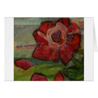 Rose of Reflection Greeting Card