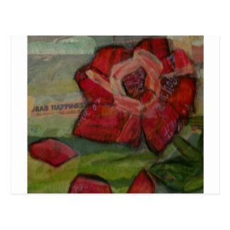 Rose of Reflection Postcard