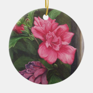 Rose of Sharon Ornament