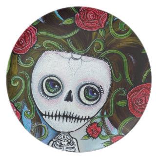 Rose Of The Sea Plate