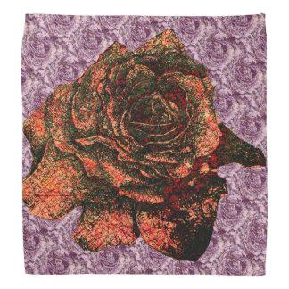 Rose on Rose Pattern Bandana