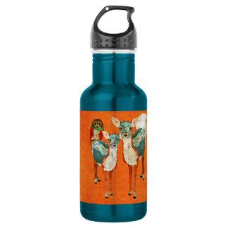 Rose Owl & Azure Deer Liberty Bottle 532 Ml Water Bottle