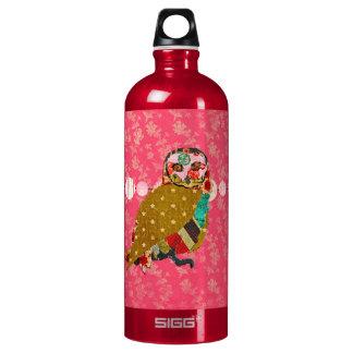 Rose Owl Pink  Liberty Bottle SIGG Traveller 1.0L Water Bottle