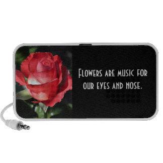 Rose Perfection Doodle Travel Speaker