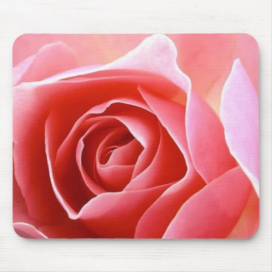 Rose Petal Pink Mouse Mat