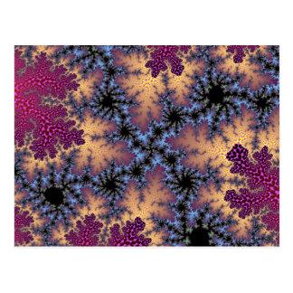 Rose Petal Speckle Postcard