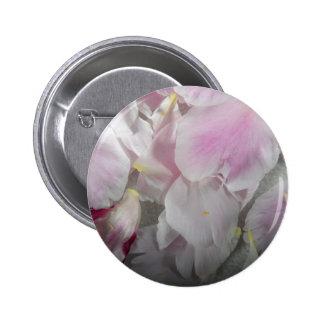 Rose Petals 6 Cm Round Badge