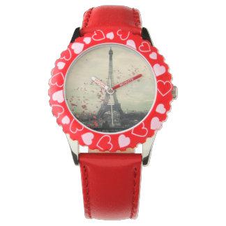 Rose petals in Paris Watch