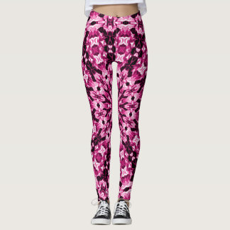 Rose Petals Zen Love Leggings