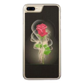 Rose phone carved iPhone 8 plus/7 plus case