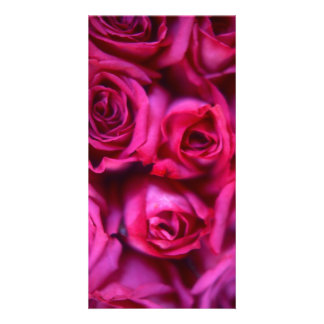 Rose Photo Card Template