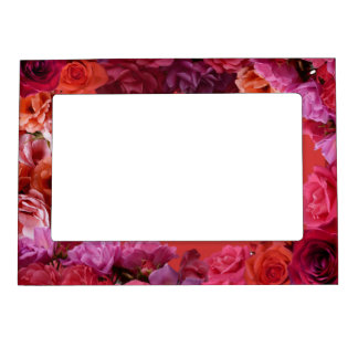 Rose Picture Frame Romantic Roses Frame Picture Frame Magnet