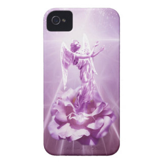 Rose pink Angel flame of love iPhone 4 Case-Mate Cases