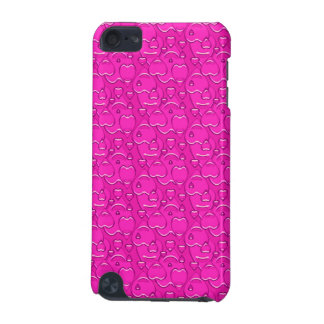 Rose Pink Hearts Pattern iPod Touch (5th Generation) Cases