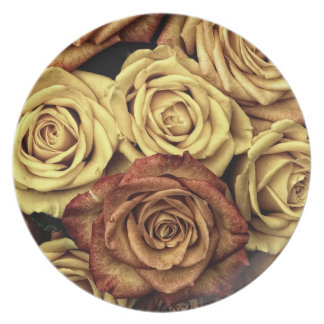 Rose Plate Party Plates