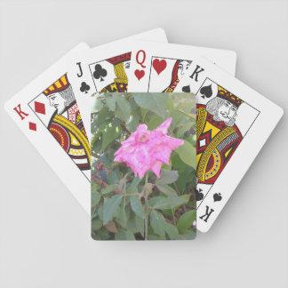 ROSE PLAYING CARDS