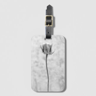 Rose Portrait in Black and White CLASSY! Luggage Tag
