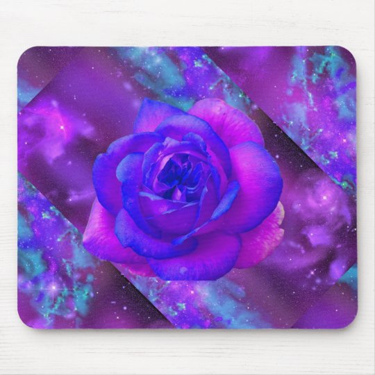 Rose purple Mousepad