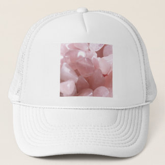 Rose Quarts spiritual pink love crystal Trucker Hat