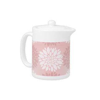 Rose Quartz Chrysanthemum Ombre Flower Kimono Pink