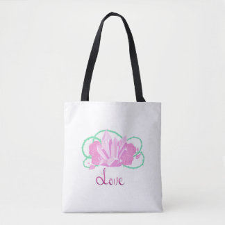 Rose Quartz Custom Tote Bag