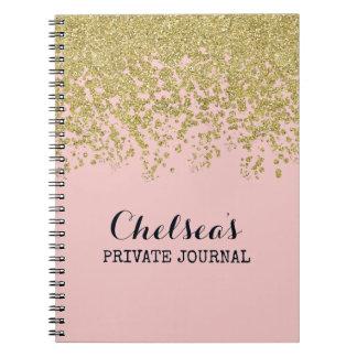Rose Quartz Glam Chelsea Notes Notebook