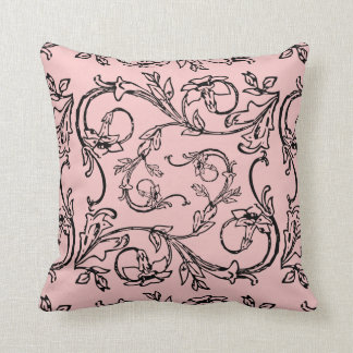 Rose Quartz  Throw pillow Cushion